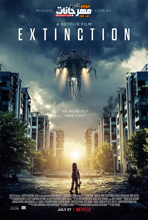 فيلم Extinction 2018 WEB-DL مترجم